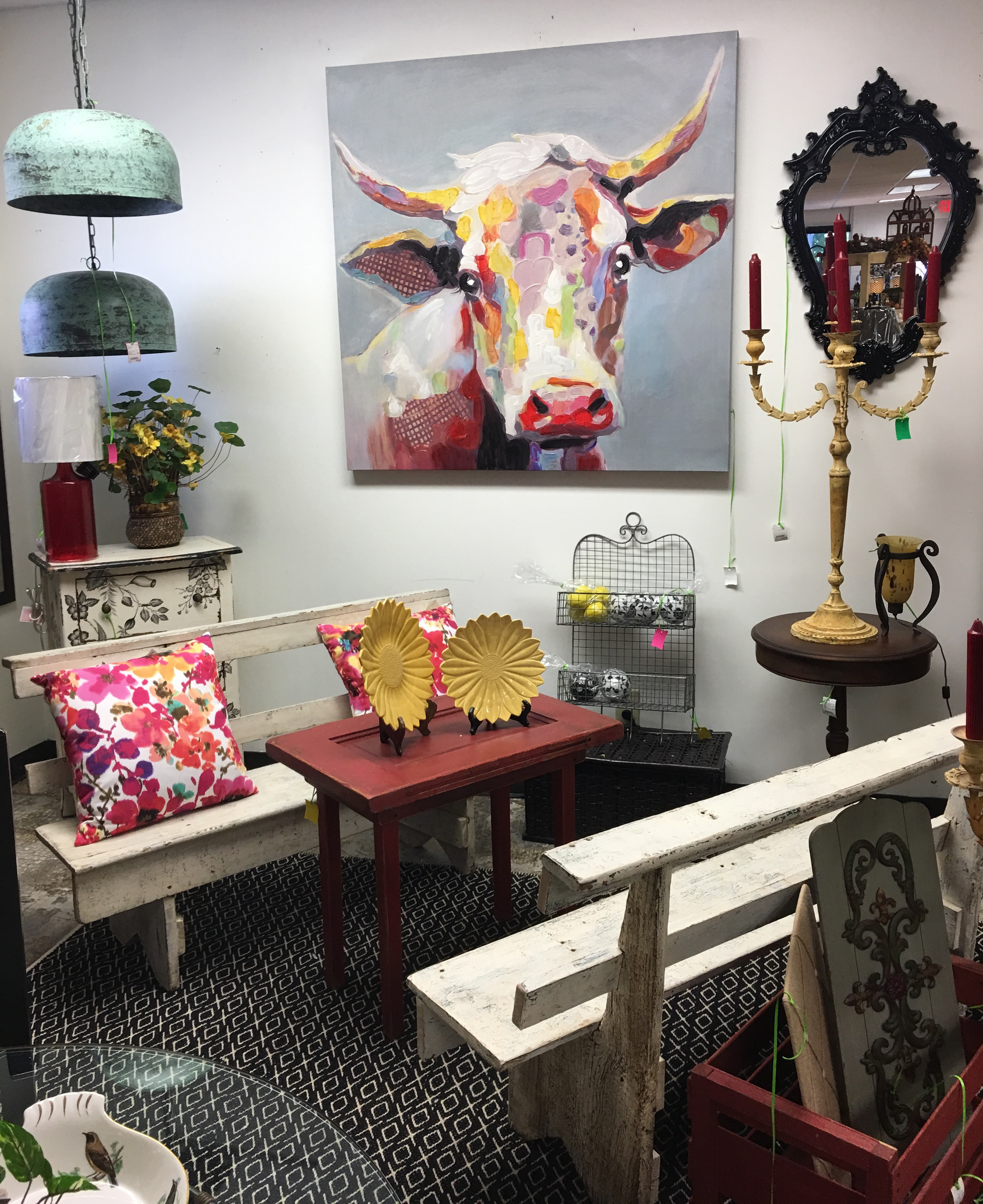 Consignment Furniture Art And Old Benches Eyedia Shop