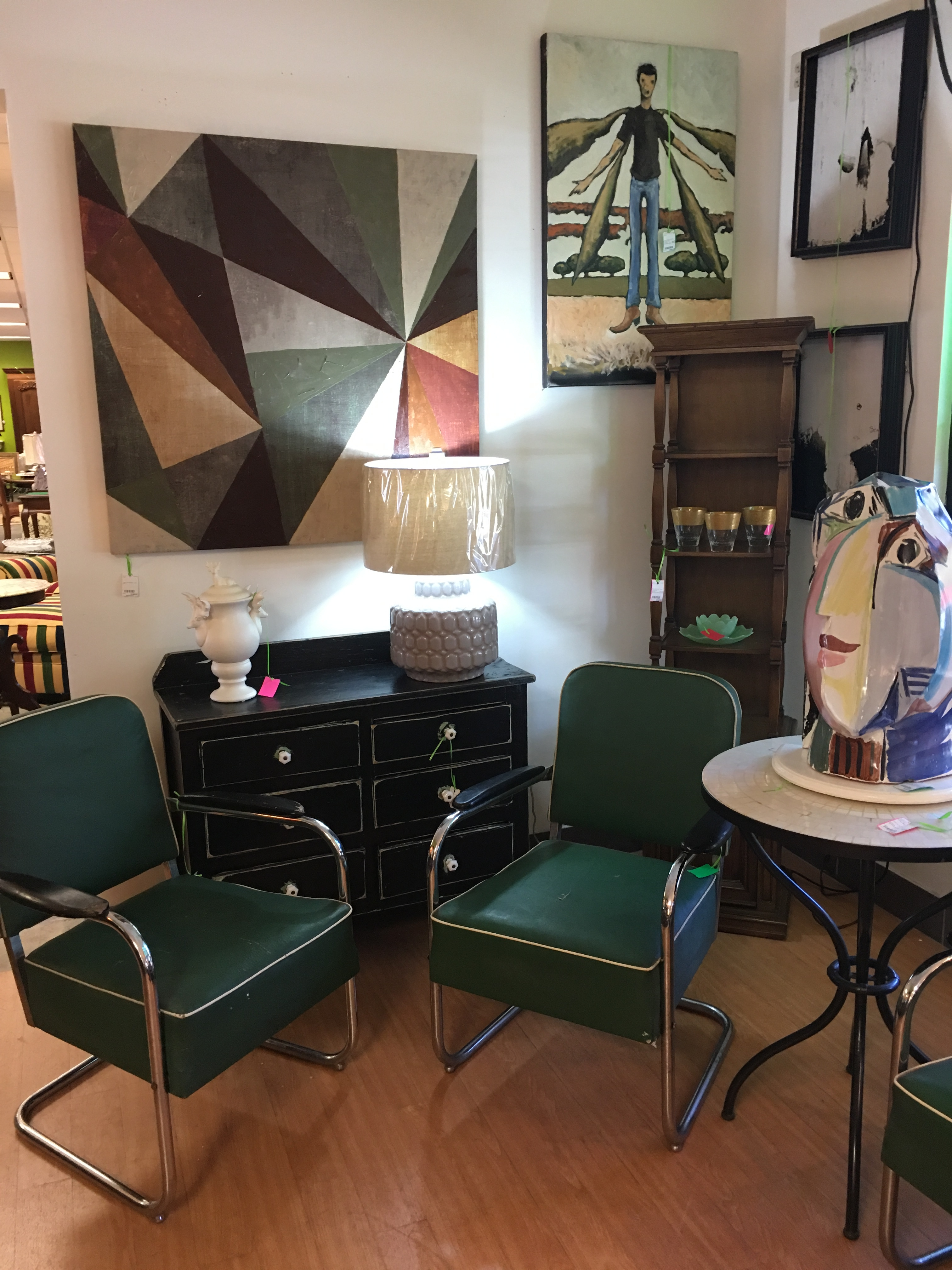 Consignment Furniture Consignment Furniture Vintage Green Chairs Eyedia Shop