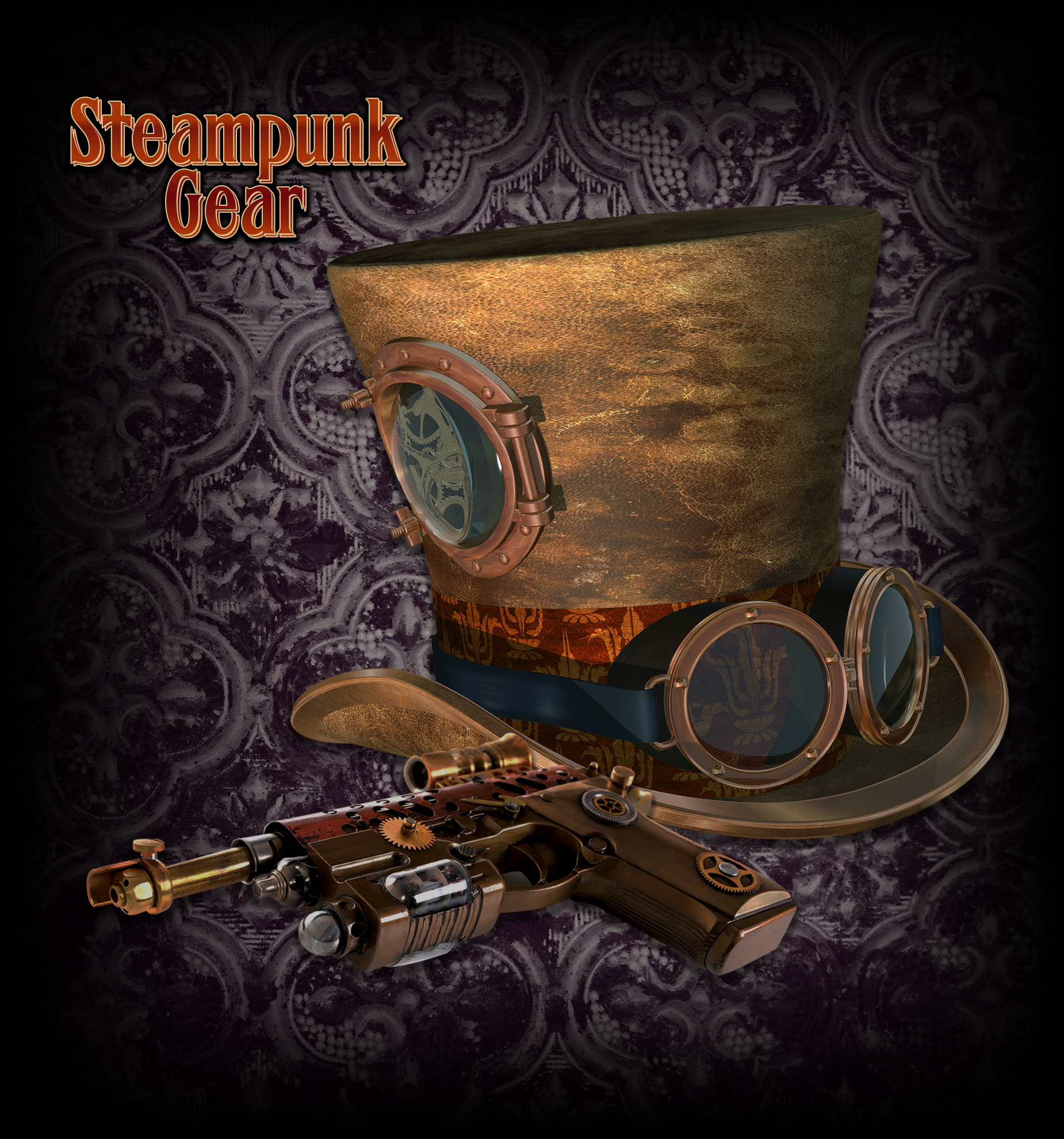Shop Steampunk Gear Collection at Eyedia