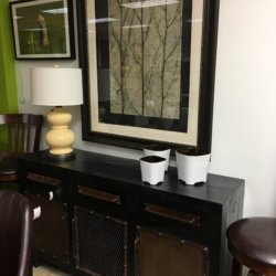 Black Industrial Cabinet Consignment Furniture For Sale Louisville KY ...