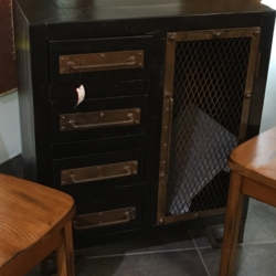 Industrial Side Cabinet Consignment Furniture for Sale Louisville KY