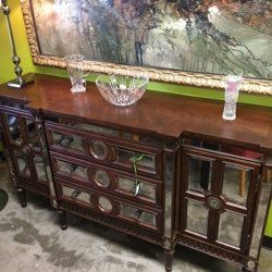 Mirrored Console Cabinet | Consignment Furniture Louisville KY