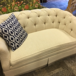 Curve Back Tufted Sofa New and Consigned Furniture for Sale Louisville KY