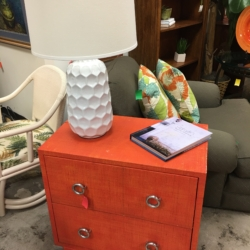 ... Orange Two Drawer Chest Consignment Furniture For Sale Louisville KY ...