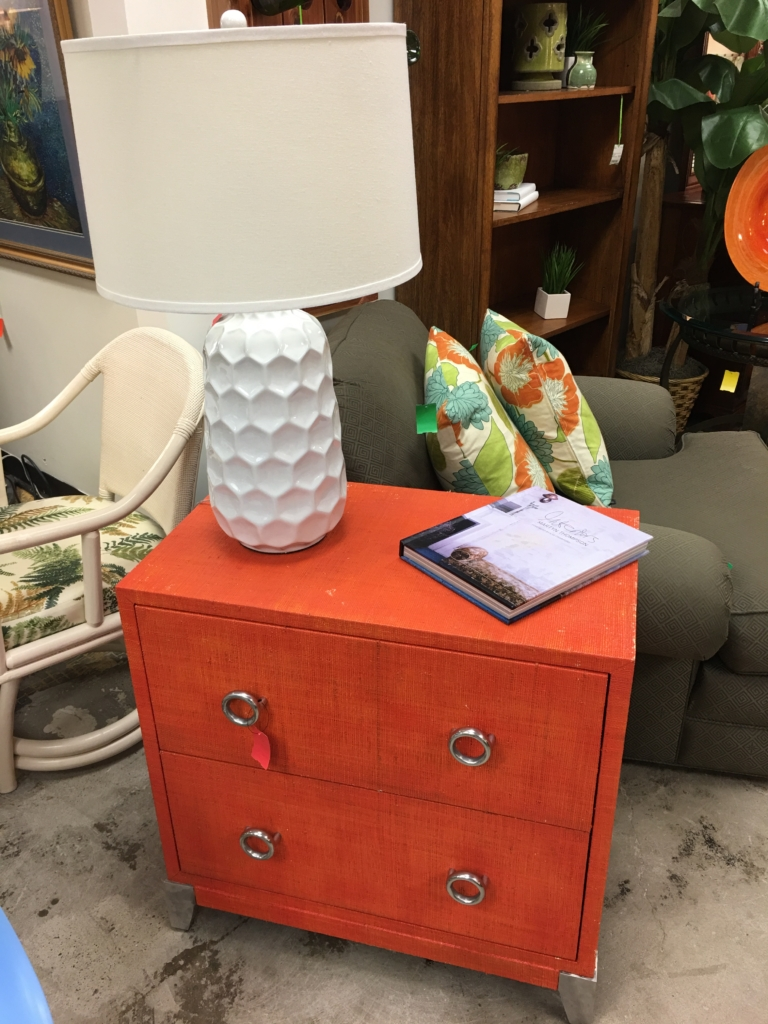 Attrayant ... Orange Two Drawer Chest Consignment Furniture For Sale Louisville KY ...