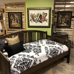 Dark Wood Daybed Consignment Furniture for Sale Louisville KY