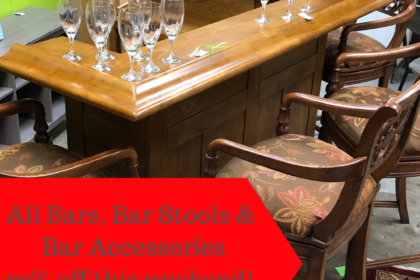 All Bars, Bar Stools & Bar Accessories20% offthis weekend!December 7th - 9th