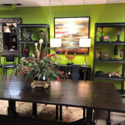 Dark Wood Pottery Barn Dining Table Bench and Chairs Consignment and New Furniture for Sale Louisville KY