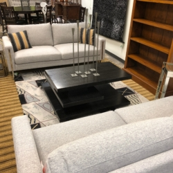 Gray and Chrome Sofas New and Consignment Furniture for Sale Louisville KY eyedia