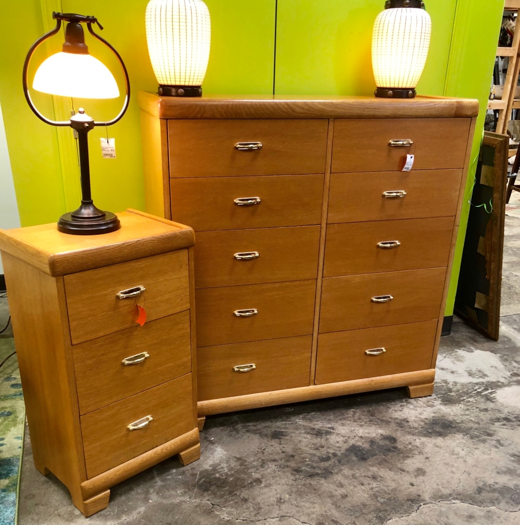 Mid Century Chest And Nightstand Consignment Furniture Louisville Ky