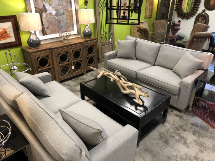Gray 2 Cushion Performance Sofa for Sale eyedia Louisville KY