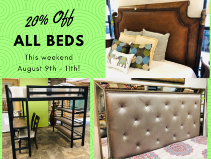 20% Off All Beds this weekend!