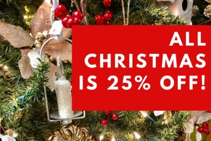 All Christmas is 25% Off! Consignment Furniture and Home Decor Louisville KY eyedia