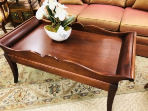 Wood Coffee Table Consignment Furniture for Sale Louisville KY eyedia