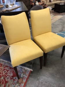 Yellow Parsons Chairs Consignment Furniture for Sale Louisville KY eyedia